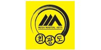 Musa Martial Arts Logo Black in Yellow